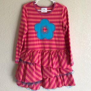 Hanna Andersson pink stripe dress